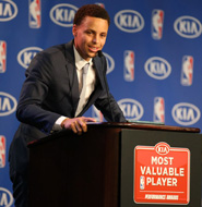 Stephen Curry MVP Speech